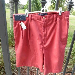 POLO Ralph Lauren NWT Pleated Tyler Shorts Size 38